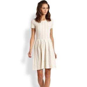 BCBGmaxazaria Cydney Knit Wool A-line Dress